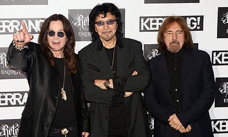 Black Sabbath in 2012